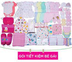 Trọn bộ sơ sinh tiết kiệm dành cho bé gái hè - Freeship -  www.shopmebau.com.vn