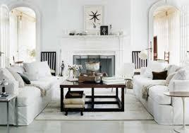 White Contemporary New Traditional Living Room Decor Decoseecom