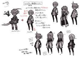 アライアンスアライブキャラクターメイキング3d化を前提とした