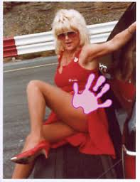 LINDA VAUGHN MISS HURST LEGGY PINUP PHOTO LV 1 | eBay
