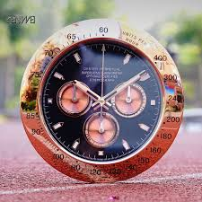Luxury <b>Wall</b> Clock <b>Metal Creative</b> Modern Gold <b>Wall</b> Clocks <b>Large</b> ...