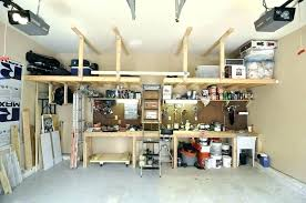 ceiling hanging shelves garage storage hanging shelving solutions within ceiling shelves designs