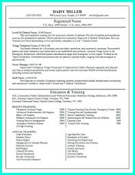 Resume For Nursing School Resume Cover Letter Template