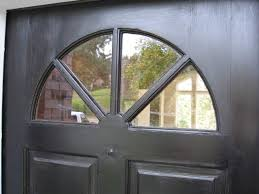 replacing damaged glass in an entry