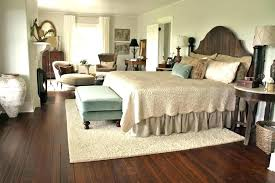 how area rug under bed white bedroom to place an in front of sectional what size