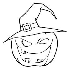 Small Picture Coloring Pages Clipart Image Spooky Jack O Lantern Coloring Page