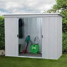 8x4 metal garden sheds yardmaster shed