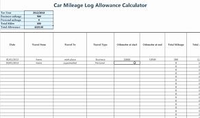 Car Mileage Claim Form Free Mileage Log Spreadsheet Excel And Reimbursement