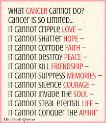 Fighting Cancer Quotes Cool 48 Most Inspiring Cancer Quotes World Cancer Day TheFreshQuotes