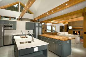 artificial ceiling beams kitchen with reion beams