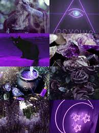 Witch aesthetic, Purple aesthetic ...