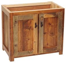 bathroom sink cabinet base. Incredible Rustic Wood Bathroom Vanity Base 30w Sink Cabinets Remodel Cabinet .