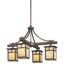 arts and crafts chandelier. Kichler Lighting 49091cv Alameda Arts And Crafts Mission Chandelier
