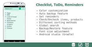todo checklist color checklist todo reminders by kenzap codecanyon