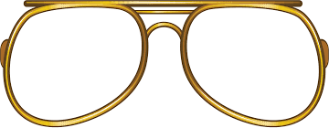 Victorian Spectacles Clipart