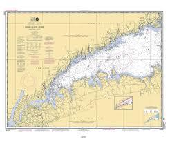 Historical Nautical Chart 12363 02 2010 Long Island Sound Westerm Part
