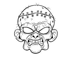 Libro Da Colorare Piante Vs Zombie Immagine Del Disegno Mazza Da