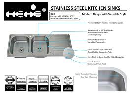 stainless steel kitchen sink drop in sink stainless steel top mount equal double bowl kitchen sink with drain board