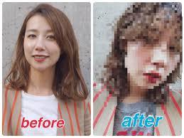 エロ髪美容師今期トレンドのウルフヘアにイメチェンしました 女性