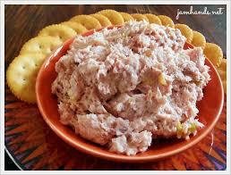 jam hands appetizer old fashioned ham salad use gf ers