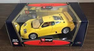 1:24 model bugatti eb110 super sport racing supercar detailed diecast car 1994. Bburago Bugatti Eb110 1991 1 18 Scale Diecast Car Special Collection Yellow Bburago Bugatti Diecast Cars Bugatti Eb110 Bugatti