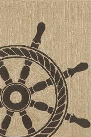 trans ocean by liora manne frontporch ship wheel rug