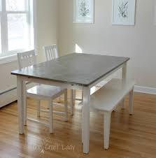 Round Cement Top Dining Table Dining Room Ideas