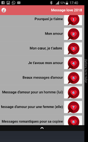Message Damour 2018 For Android Apk Download