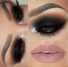 makeup looks for brown eyes dramatic bridal look our favorite look here at toplevelsalon follow us intense black smokey