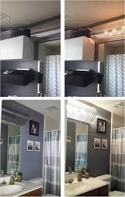 home decor bathroom lighting fixtures. Ugly Hollywood Light Cover-up--easy DIY! Decorative Radiator Covers + Lumber Home Decor Bathroom Lighting Fixtures