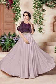 Satin Silk Dress Designs Divine Satin Silk And Taffeta Silk Designer Gown