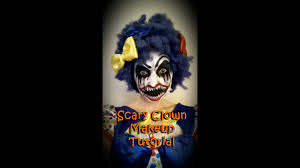 easy scary clown make up horrible duo scary