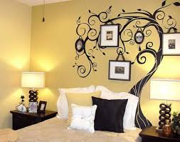 Small Picture Paint For Bedroom Walls Ideas With Wall Design For Yellow Painted