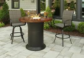round gas fire pit table bcp extruded aluminum gas outdoor fire pit table with cover