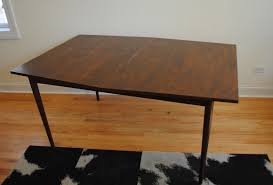 mid century modern dining room furniture. Mid Century Modern Walnut Dining Table Room Furniture R