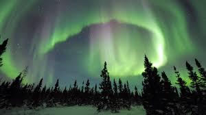Northern Lights Stone Alaska Fairbanks Alaska Northern Lights While Soaking In Natural