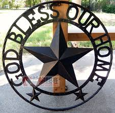 breathtaking texas star wall decor 36 inch black metal large decoration outdoor lone