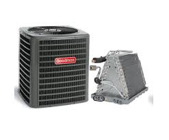 goodman 2 ton 13 seer air conditioner model gsx130241 and uncased goodman 2 ton 13 seer air conditioner model gsx130241 and uncased evaporator coil 14 wide model cauf1824a6