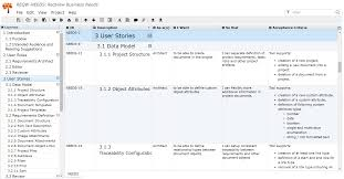 requirements document template example requirements documents reqview documentation