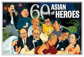 Time 60 years of asian heroes