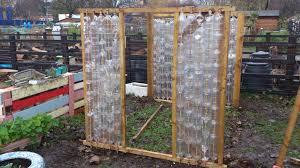 plastic bottle greenhouse construction