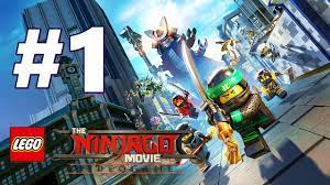 LEGO NINJAGO Movie Video Game Story Mode Gameplay Walkthrough Part 1 FULL GAME  PS4 - No Commentary - YouTube