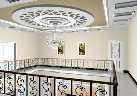 Roof ceiling and chandelier image