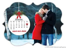 Christmas Wedding Save The Date Cards Christmas Ornament Save The Date Card Save The Date Cards