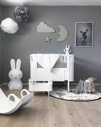 A beautiful kid's room by @stinejmoi, Miffy lamp, Rosaline doll bed and OYOY