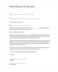 Demand Notice Templates 5 Free Word Format Free Final Demand
