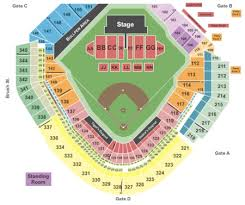 Comerica Park Seating Chart By Rows Comerica Park Tickets Comerica Park In Detroit Mi At