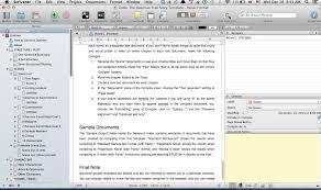 Scrivener Resume Template Templates Simply Scrivener 1