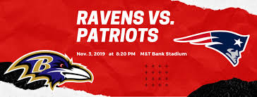 New England Patriots Seating Chart Nu Club Of Maryland Ravens Vs Patriots Norwich University