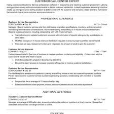 Sample Resume For Inbound Customer Service Representative Call Center Resume Sample Professional Resume Examples Topresume 44